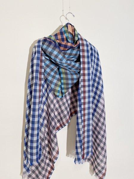 Épice Paris Check 6- Wool / Cashmere Shawl