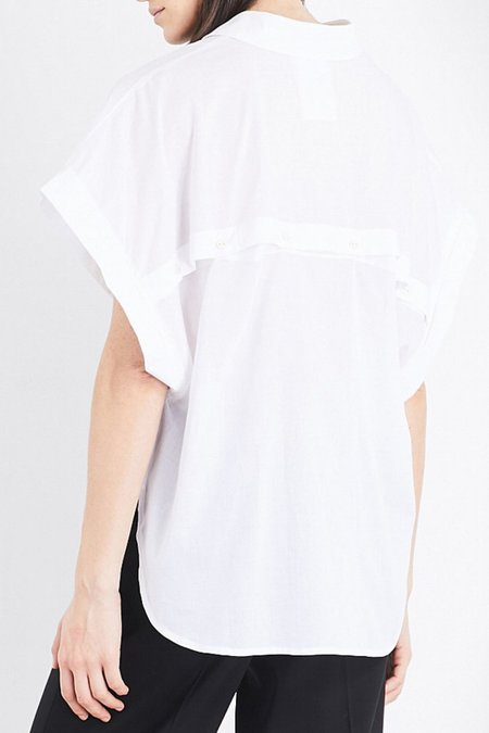Study NY Shirt 1.5 in White