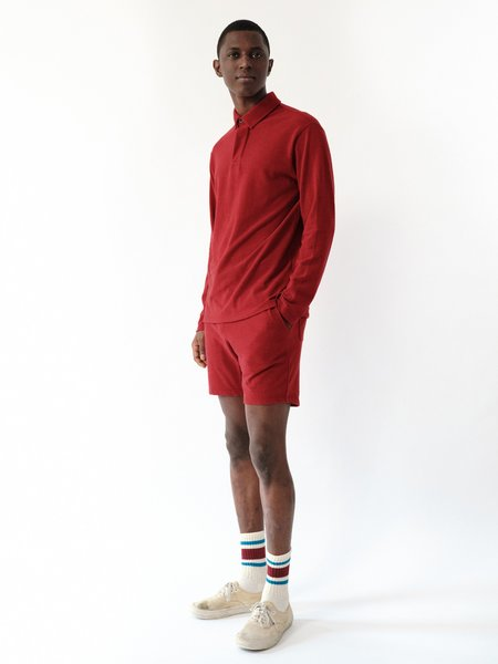 Magill Harley Pique Polo - Red