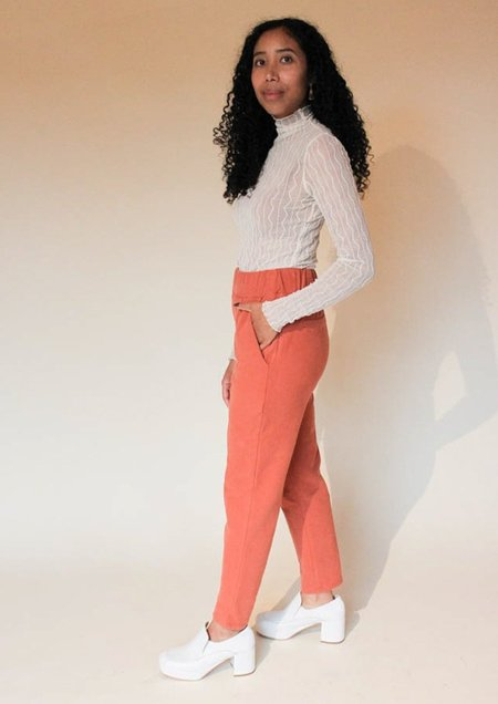 beaumont organic George Organic Cotton Trousers