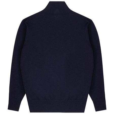 NN07 Clark Sweater - Navy Blue