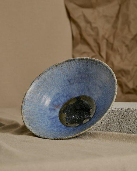 Vintage Evil Eye Bowl - blue/navy