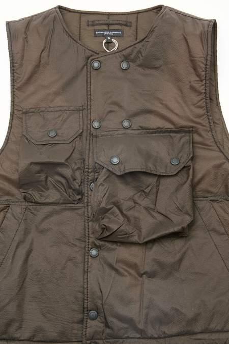 Engineered Garments Cover Vest - Brown