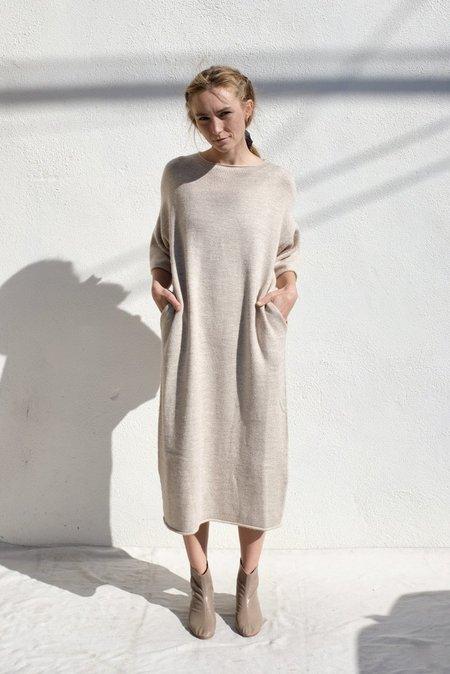 Lauren Manoogian Bateau Dress - Oak Slub