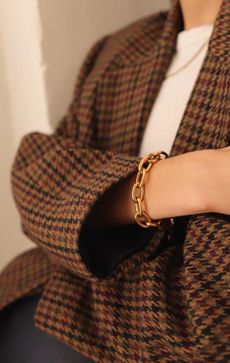 1993 Gold Chain Bracelet