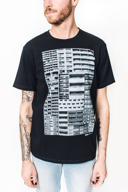 Wood Wood Building T-shirt