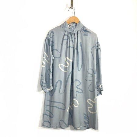 Eve Gravel Joplin Dress - Sky/Salt Water