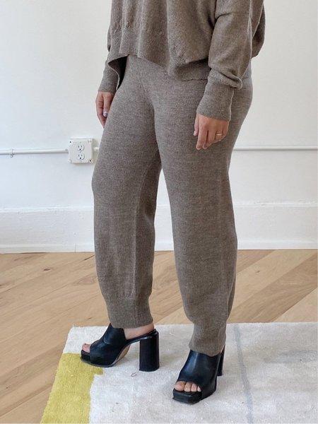 Lauren Manoogian Fine Arch Pants - Wood