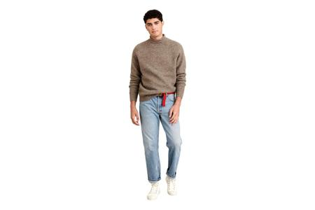 Alex Mill Alex Alpaca Sweater - Chestnut