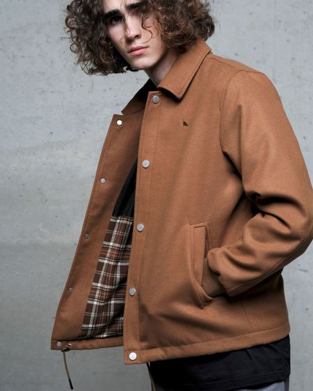 Wemoto Galway coach jacket - Brown