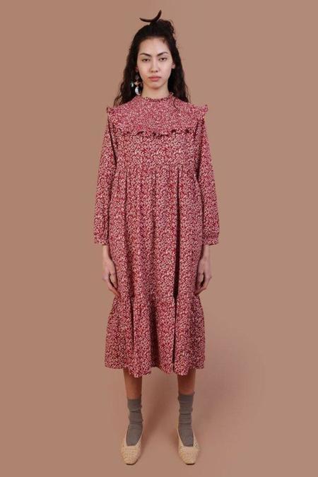 Meadows Jasmine Dress - Ditsy Corduroy