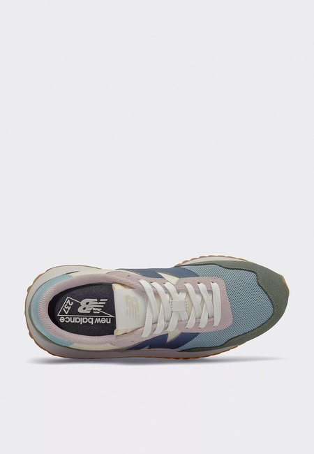 New Balance Womens 237 Patchwork Pack Shoes  - norway spruce/storm blue
