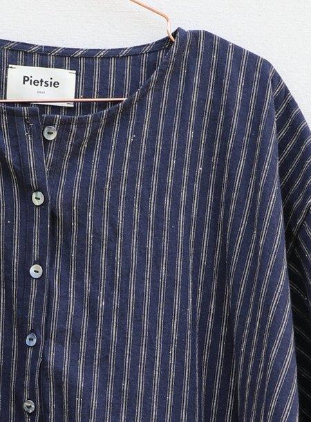 Pietsie Tunis Caftan - Indigo Stripe