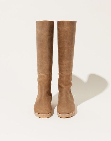 Lauren Manoogian Tall Lined Boot - Burnt Umber