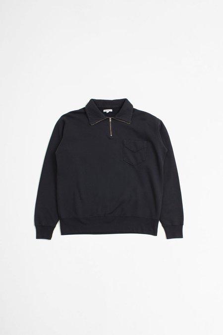 Lady White Co. 1/4 Zip Pocket Sweatshirt - Ink Navy