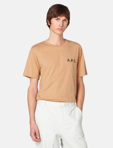 A.P.C. Daniel T-Shirt - Beige