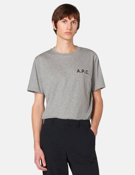 A.P.C. Daniel T-Shirt - Grey