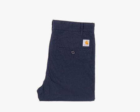 CARHARTT WIP Menson Pants - Navy Twill