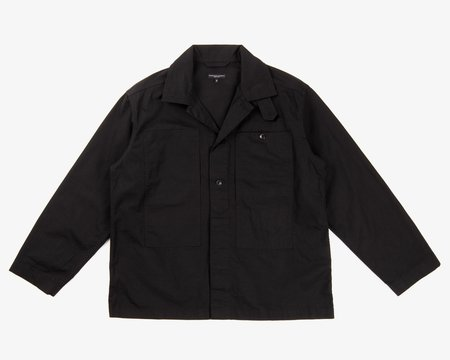 Engineered Garments Fatigue Shirt - Black Cotton Ripstop