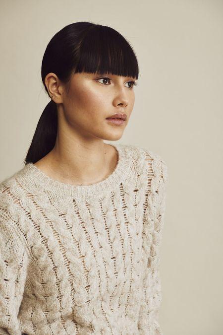 John and Jenn Anderson Sweater - Abalone