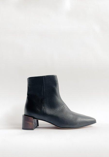 Mari Giudicelli Classic Boot - Black Calfskin