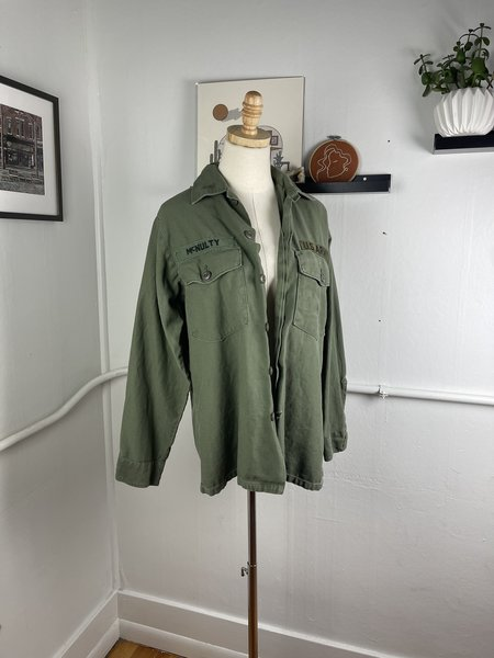 Vintage Military Jacket - olive