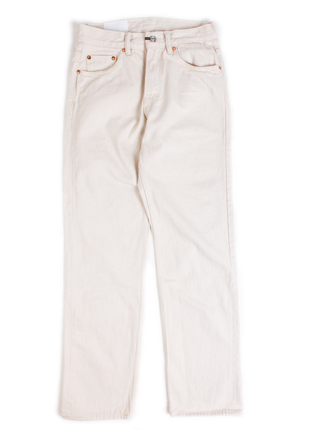 Our Legacy 2nd Cut White Selvedge Rinse Wash