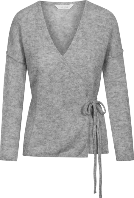Gai & Lisva Columbine Alpaca Sweater-Grey