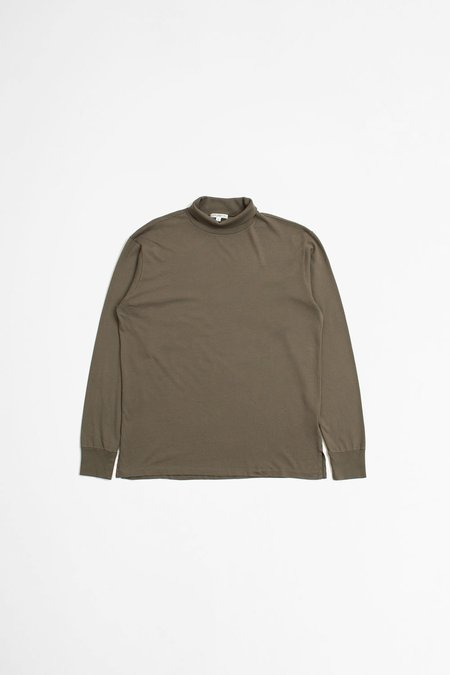 Lady White Co. Jersey Turtleneck - Deep Cement
