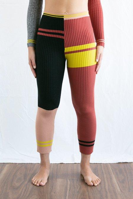 Giu Giu Jigsaw Nonna Pants - multicolour
