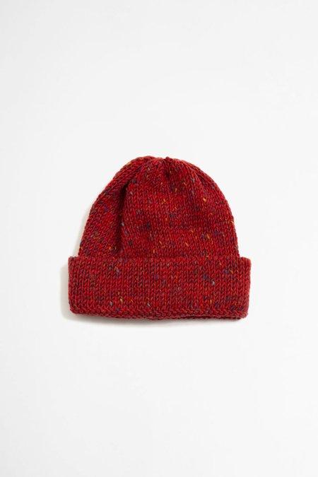 Universal Works Wool Short Watch Cap - Kilkarra Red