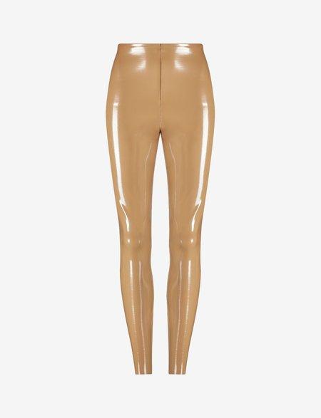 Commando Faux Patent Leather Legging - Cocoa