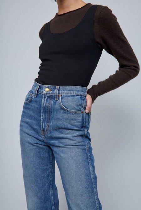 B Sides Plein High Straight Jean - Reese Vintage