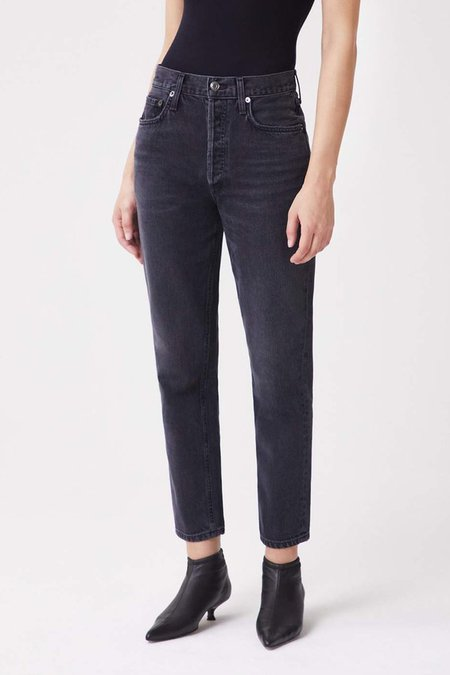 Agolde Fen High Rise Taper Jeans - Shambles