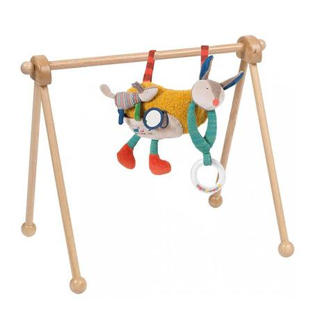Kids Moulin Roty Chambre Wooden Play Frame - Natural