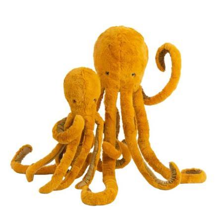 Kids Moulin Roty Tout Autour Du Monde Octopus Soft Toy Large