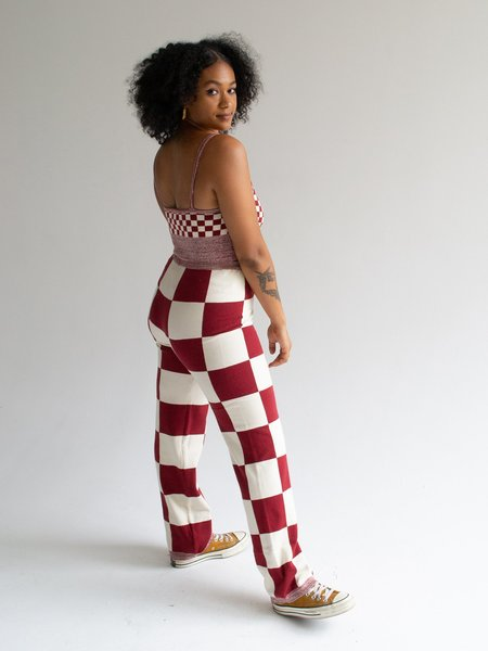 Find Me Now Checker Set - Red