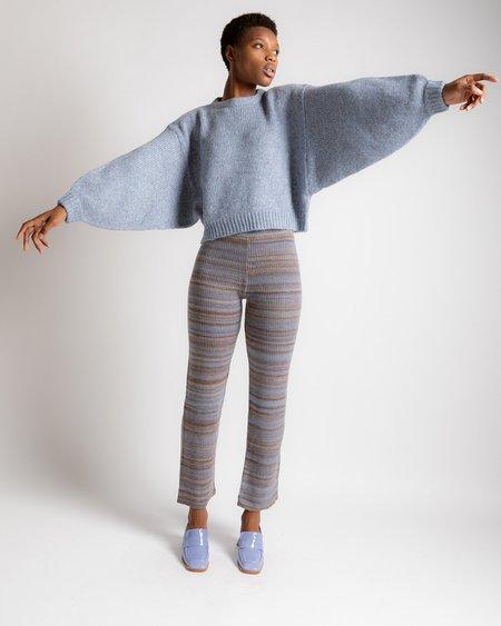 Atelier Delphine Balloon Sleeve Sweater - Sky
