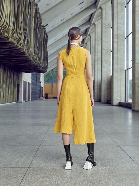 D. Efect Raminta Dress