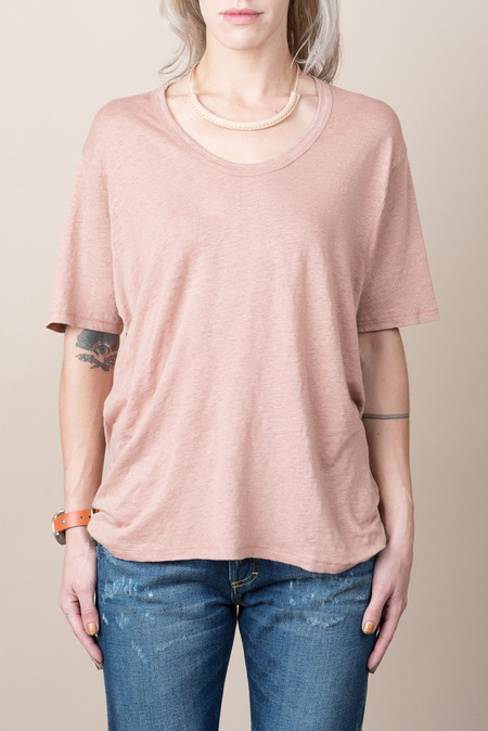 Hope Dash Tee In Old Pink