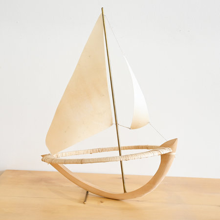 Made Solid Miniature Boat by Elise Cameron-Smith