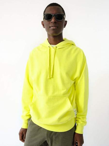 MAGILL Robert Hoodie - Neon Yellow