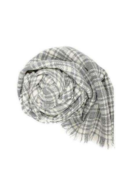 Destin Sogno Sciarpa - Grey/White