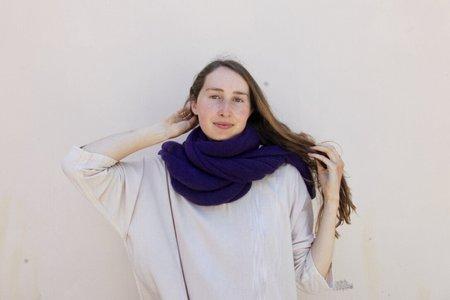 scarf 100% Italian Cashmere Jersey Shawl -Pink