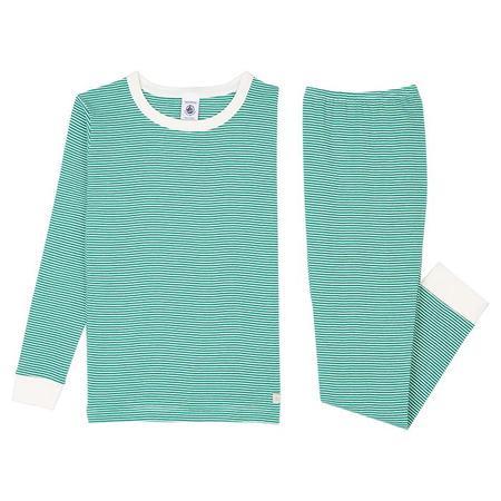 Kids Petit Bateau Child Tristan Pyjamas Set - Green