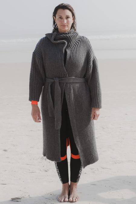 Baserange Long Mea Recycled Wool Coat