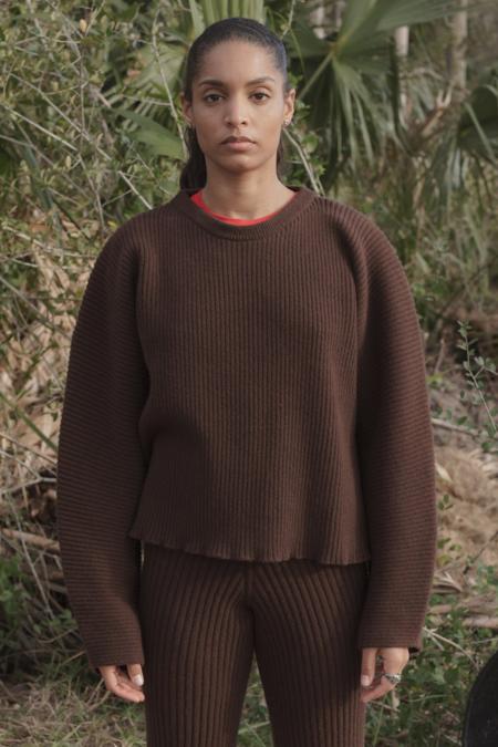 Baserange Kai Sweater - Castagna