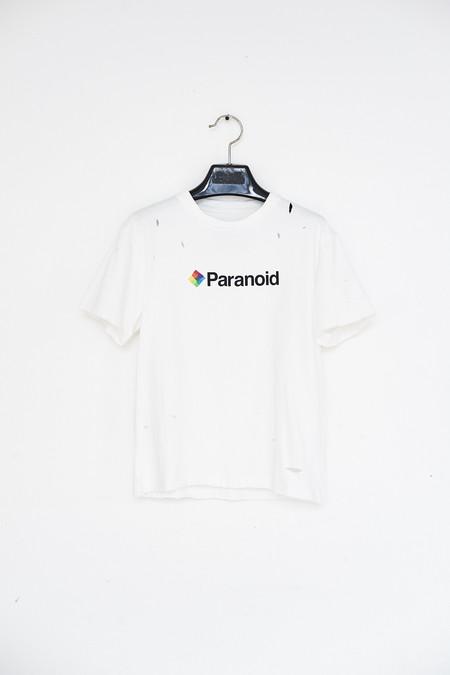 Unisex Saenai Cotton Paranoid T-shirt