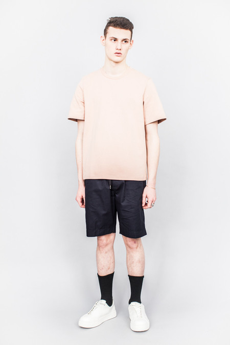 CMMN SWDN Miles Double Jersey T-Shirt Dusty Pink