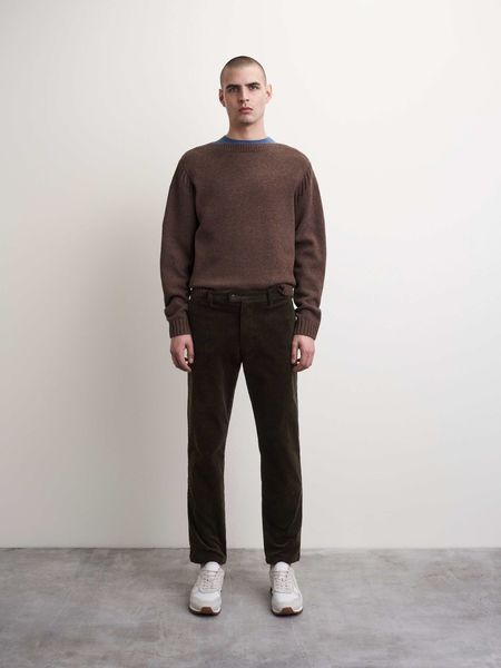 Tiger of Sweden Caiden Trousers - Turkish Coffee